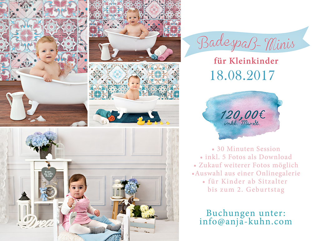 Badeshooting Miniaktion